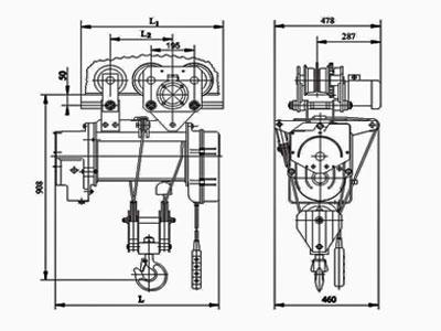 Таль электрическая схема