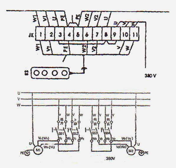 Лебедка электро схема